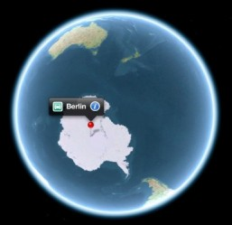 Apple locates Berlin in Antarctica