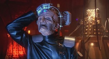 Davros from Doctor Who smacking his forehead