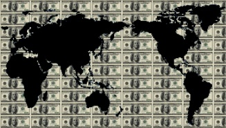 The world awash with dollars