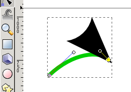 Arrow head not matching arrow in Inkscape