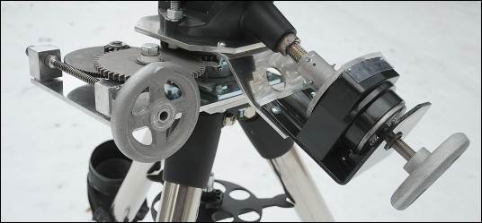 Modified telescope mount