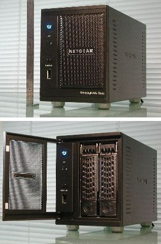 Review of Netgear ReadyNAS Duo in Linux