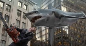 Scene from sharknado