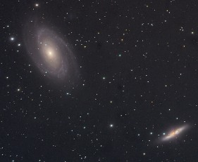 Messier 81 and 82 galaxies