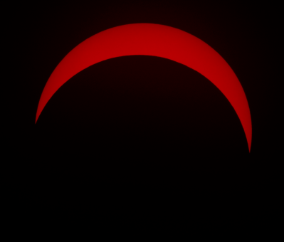 Eclipse in H-alpha