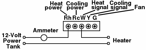 thermostat circuit