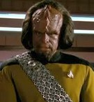 Worf from Star Trek the Next Generation